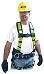 MILLER 650CN-BDP/UGN CONTRACTOR FULL BODY HARNESS